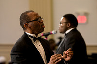 Dr. Carl W. Haywood, director of Norfolk State University Concert Choir. April 21, 2012 (Official Berean SDA Church Photo by Enrique Copeland)