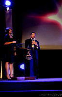 Hosts for the  evening - Eld. Rebecca Davis and Tony Gomez.  - (c) Official Berean SDA Church Photo by Burdie Henri