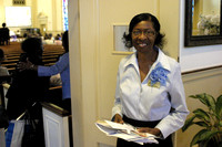 Usher. First service. Sermon: The Lords Prayer. September 8, 2012 (Official Berean SDA Church Photo by Richard White)