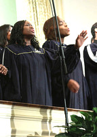 The Choir. Divine Worship Experience 02-25-2012, (Official Berean SDA Church Photo by David Stewart Jr)