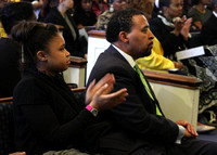 Gabrielle and Tony Gomez. Divine Worship Experience 02-25-2012, (Official Berean SDA Church Photo by David Stewart Jr)