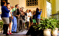 Group performs to start farewell program. (Official Berean SDA Church Photo by Burdie Henri)