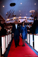 Pastor Byrd escorted to stage.  - (c) Official Berean SDA Church Photo by Burdie Henri