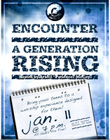 "Encounter is ""THE"" Berean youth worship experience. Encounter is a ministry initiative  of Worship, Involvement, Service and Evangelism for 13-17 year olds."